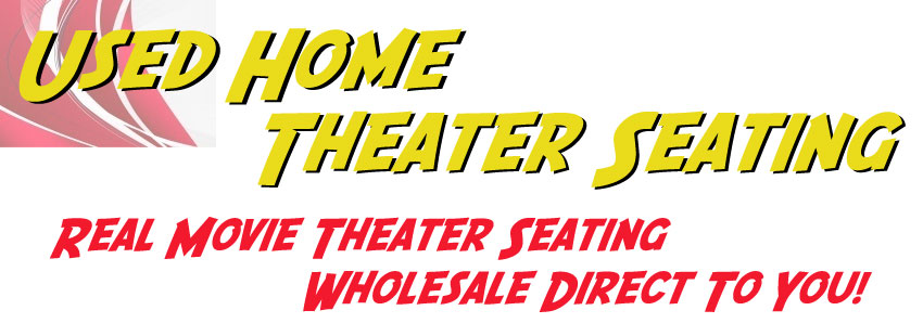 Used home theater seating