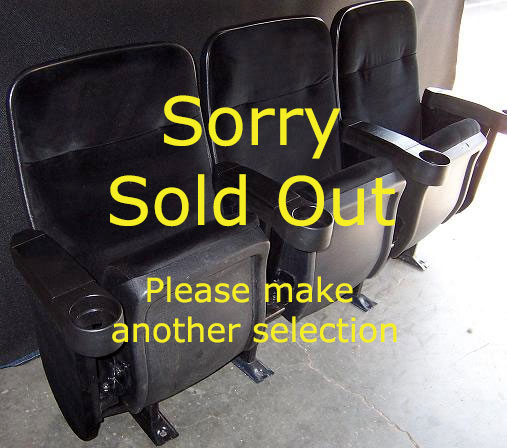 super group black velvet marquee theater seats for sale