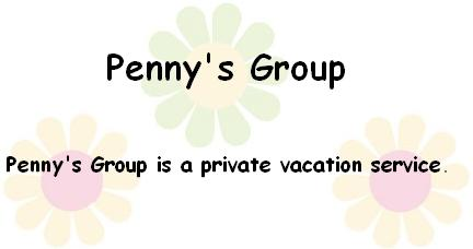 Pennys Group Private Vacation Service PennysGroup.com