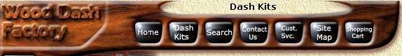 wood dashboard kits