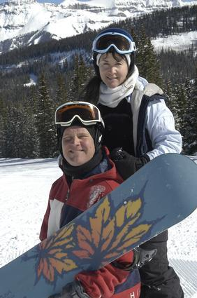 Penny and Wil in Telluride Colorado Pennys Group